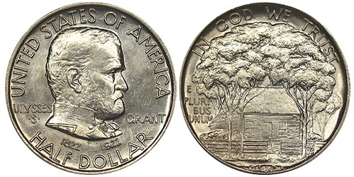 1922 Ulysses S. Grant Half Dollar