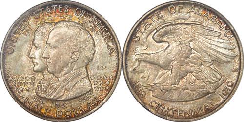 1921 Alabama Centennial Half Dollar