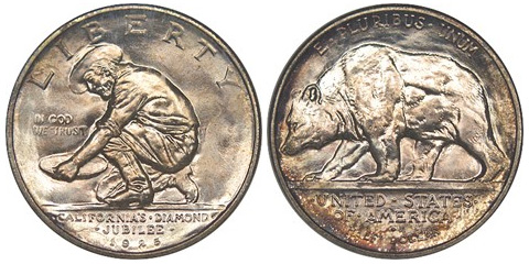 1925 California Half Dollar