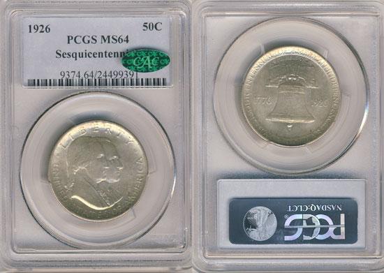 PCGS or NGC Sesquicentennial Half Dollar