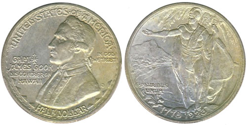 1928 Hawaiian Sesquicentennial Half Dollar