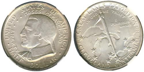 1936 Cleveland Centennial Half Dollar