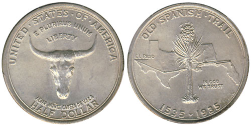 1935 Old Spanish Trail Half Dollar