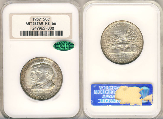 PCGS or NGC Antietam Half Dollar