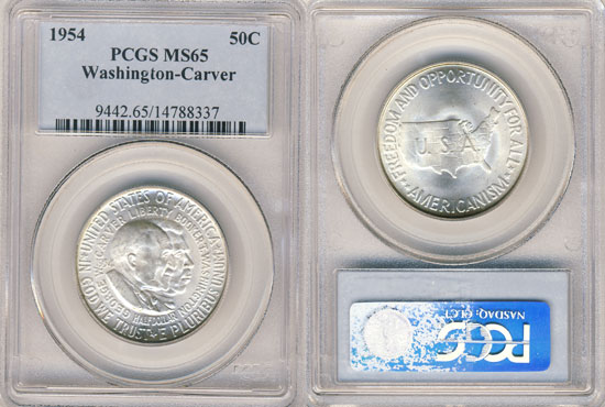 PCGS or NGC George Washington Carver Half Dollar
